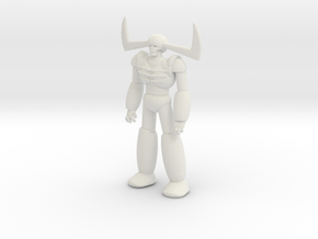 Mazinger Garada K7 Robot Mech Miniature games rpg in White Natural Versatile Plastic