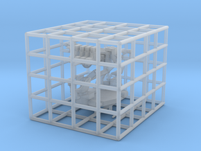 1/144 USN 1.1 inch 75 (28 mm) Quad Mount Kit in Smooth Fine Detail Plastic