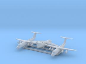 BAe 146 Family w/Gear x3 (FUD) in Smooth Fine Detail Plastic: 1:600