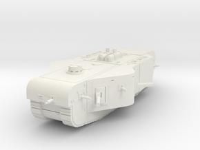 K-Wagen Tank 1/160 in White Natural Versatile Plastic