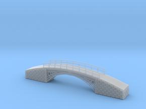 European Walk Bridge Z scale in Smooth Fine Detail Plastic