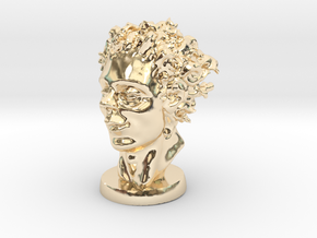 The Kid In April 3 Inches Tall in 14K Yellow Gold
