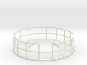 Walkway 1 - HOscale in White Natural Versatile Plastic