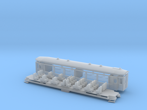 RhB As 1141-1144 in Smooth Fine Detail Plastic: 1:150