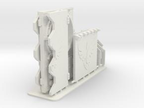 Bran Del Sangre Light Tank Upgrade Kit in White Natural Versatile Plastic