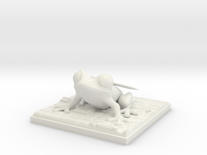 cloud_frog Final Fantasy VII in White Natural Versatile Plastic