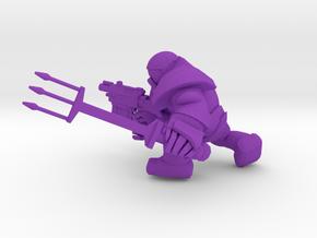 SPACE MARINER TRIDENT in Purple Processed Versatile Plastic
