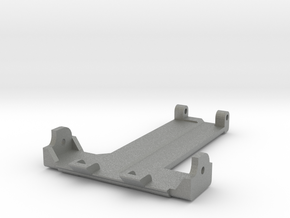 Shorty Thundershot Rear Skid Plate in Gray PA12