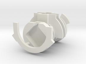 Metal Master 2.0 Insulation (18650) in White Natural Versatile Plastic