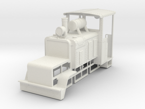 b-35-baldwin-50hp-loco in White Natural Versatile Plastic