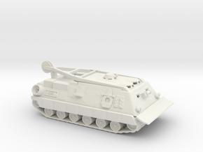 1/50 Scale M88A2 in White Natural Versatile Plastic