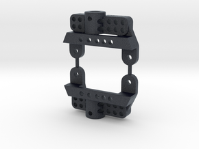 SCX10ii,  -20mm SHOCK Mounts in Black PA12