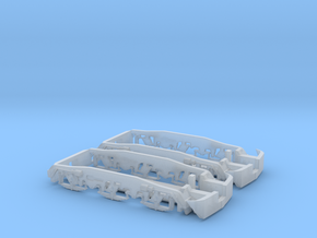 1:160 SU45/SP45 Trolley covers  in Smooth Fine Detail Plastic
