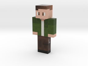 TheRedStarling | Minecraft toy in Natural Full Color Sandstone