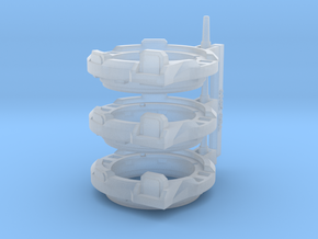 Repulsor Cupola V1 X3 in Smoothest Fine Detail Plastic