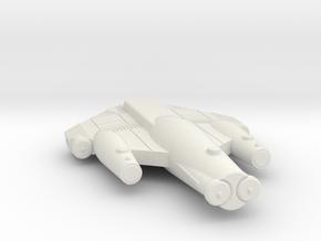 3788 Scale ISC Scout (SC) SRZ in White Natural Versatile Plastic