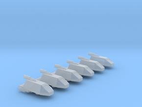 Omni Scale Kzinti Administrative Shuttlecraft MGL in Smooth Fine Detail Plastic