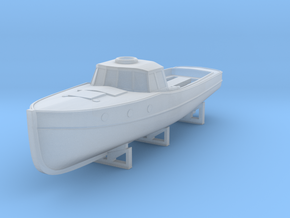 1/350 DKM Boat 11m Launch in Smooth Fine Detail Plastic