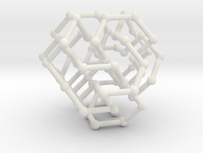 FCC knot no. 5 in White Natural Versatile Plastic