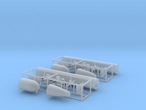1/72 DKM G7 torpedo (21 in) KIT in Smooth Fine Detail Plastic