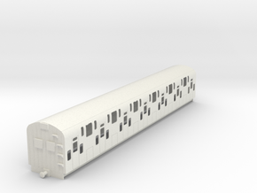 0-43-bulleid-dd-emu-trailer-coach in White Natural Versatile Plastic