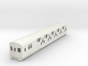 o-87-bulleid-dd-emu-driver-coach in White Natural Versatile Plastic