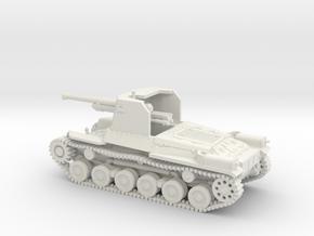 1/87 IJA Type 1 Ho-Ni I Self Propelled Gun in White Natural Versatile Plastic