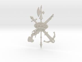 Escudo De La Legión in Natural Sandstone