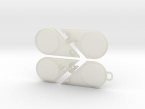 Illusionist Heart Pendant in Transparent Acrylic