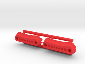 Thumb Tabs for the FREE P2 in Red Processed Versatile Plastic