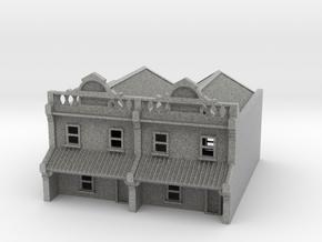 N Scale Terrace House 2 Storey (Double) 1:160 in Metallic Plastic