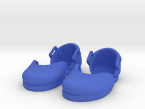 Mini Boudi Flats in Blue Processed Versatile Plastic