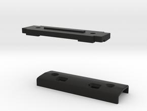 ToFSM_002_001_SideMount_Top+Base in Black Natural Versatile Plastic