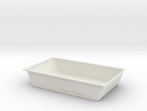 Unterboden_Siemens_3_02 in White Natural Versatile Plastic
