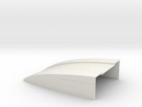 100x70x25 Deflektor for Bruder Sprinter BF3 Specia in White Natural Versatile Plastic