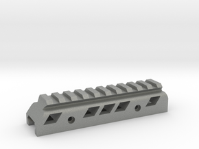 Universal 120mm mini rail riser 2cm  in Gray PA12