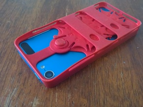 Gear Counter Case for iPod Touch 5 in Red Strong & Flexible Polished