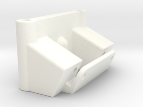NIX91-022 Front bulkhead in White Strong & Flexible Polished