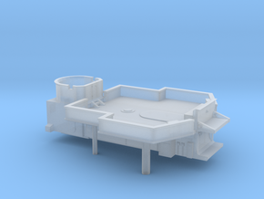 1/700 DKM Narvik-Klasse Z37 Midship Superstructure in Smooth Fine Detail Plastic