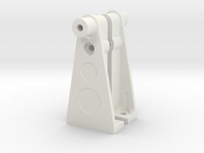 056011-01 Tamiya Falcon Rear Tower in White Natural Versatile Plastic