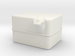 Unimog U404 Diesel Tank R 1:10 in White Natural Versatile Plastic: 1:10