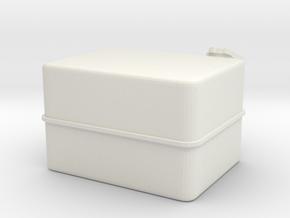 Unimog U404 Diesel Tank L 1:10 in White Natural Versatile Plastic: 1:10