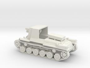 1/87 IJA Type 4 Ho-Ro Self Propelled Gun in White Natural Versatile Plastic