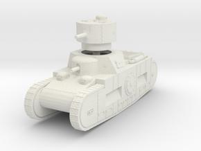 1/100 (15mm) Sturmpanzerwagen Oberschleisen in White Natural Versatile Plastic