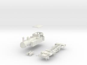 00 gauge Metropolitan Railway Non condensing A Cla in White Natural Versatile Plastic
