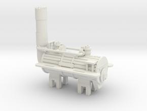 00 Scale Locomotion No 1 Loco Scratch Aid in White Natural Versatile Plastic