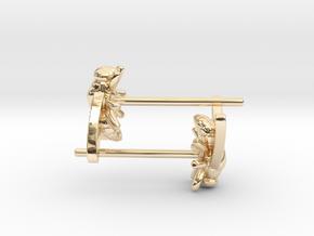 Fly Earring in 14K Yellow Gold