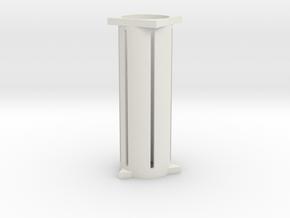 T_50_Fin_Align in White Natural Versatile Plastic