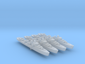 4pk S class British Destroyers 1:3000 WW2 in Smoothest Fine Detail Plastic