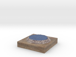 Pond Model in Full Color Sandstone